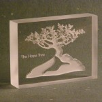 Tree Paper Weight – Clear