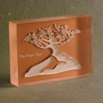 Tree Paper Weight – Copper Backed